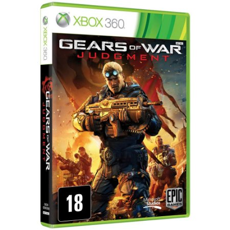 Jogo Gears of War: Judgement X360 Usado