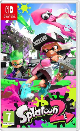 Jogo Splatoon 2 Nintendo Switch Novo