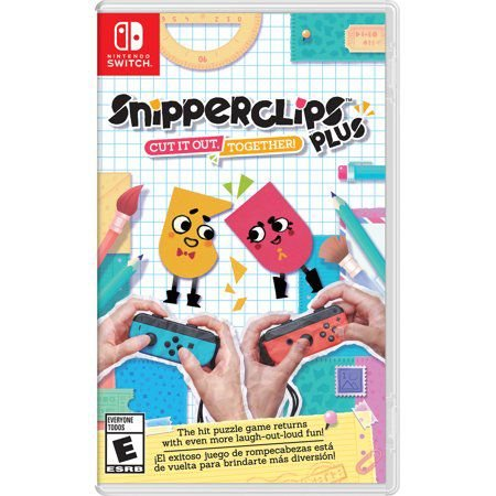 Jogo Snipperclips Plus Nintendo Switch Usado