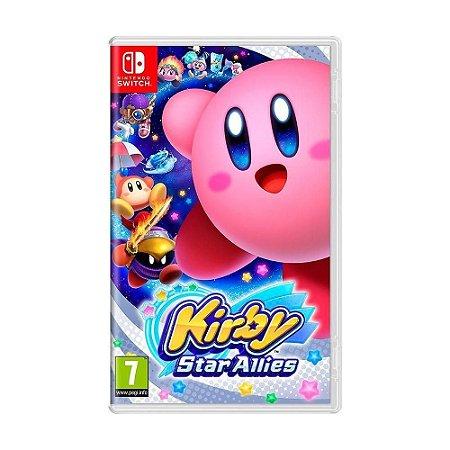 Jogo Kirby Star Allies Nintendo Switch Novo