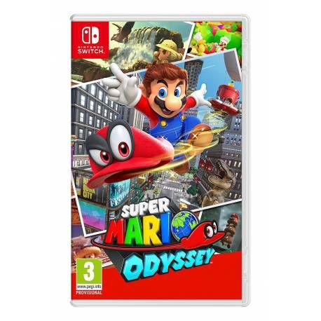 Jogo Super Mario Odyssey Nintendo Switch Novo