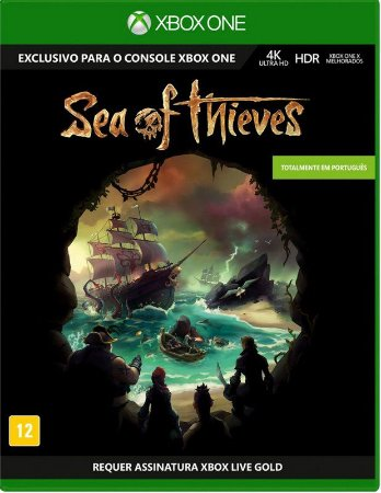 Jogo XBOX ONE Novo Sea of Thieves