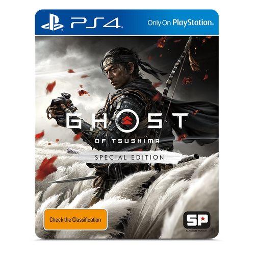 Jogo PS4 Novo Ghost of Tsushima Edição Especial