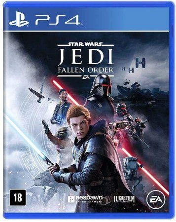 Jogo PS4 Novo Star Wars Jedi Fallen Order