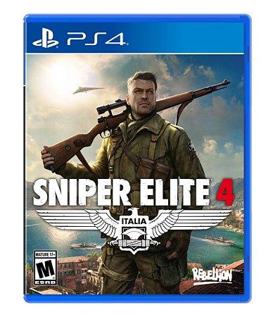 Jogo PS4 Novo Sniper Elite 4