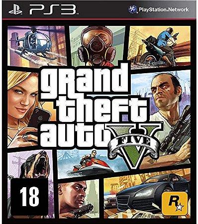 Jogo PS3 Usado Grand theft Auto V