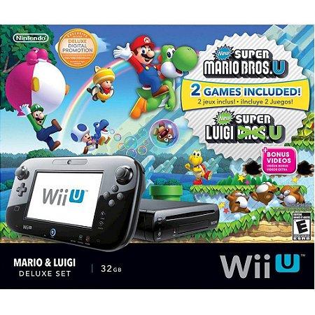 Nintendo WiiU Mario & Luigi - Deluxe Set