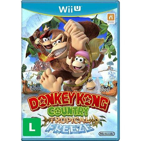Jogo Nintendo WiiU Usado Donkey Kong Country Tropical Freeze
