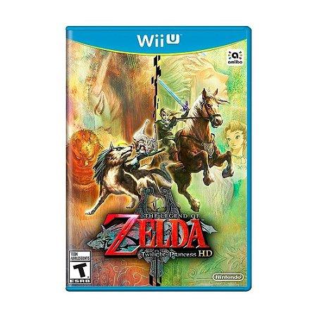 Jogo The Legend Of Zelda Twilight Princess HD Nintendo WiiU Usado