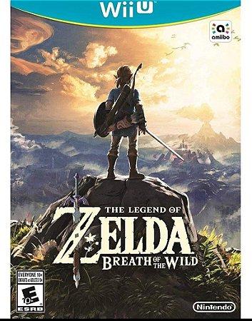 The Legend of Zelda Breath of the Wild - Nintendo WiiU