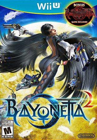 Jogo Nintendo WiiU Usado Bayonetta 2 + Bayonetta 1