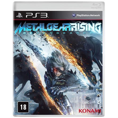Jogo PS3 Usado Metal Gear Rising Revengeance
