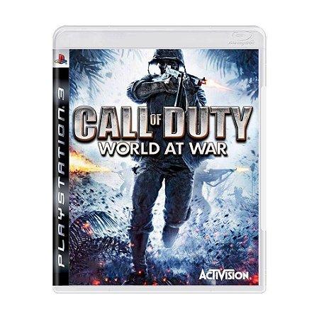 Call of Duty World At War - PS3