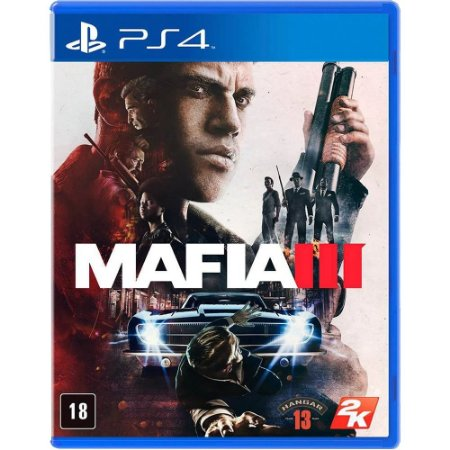 Jogo PS4 Usado Mafia III