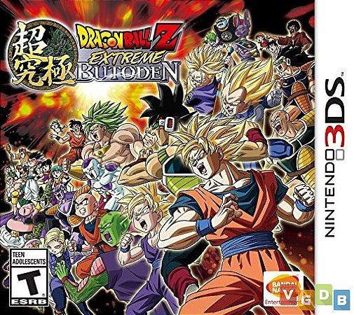 Jogo Dragon Ball Z: Extreme Butoden Nintendo 3DS Usado