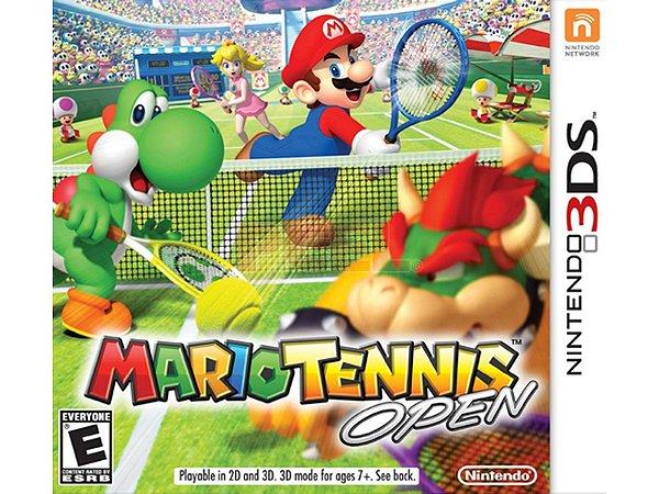 Jogo Mario Tennis Open Nintendo 3DS Usado