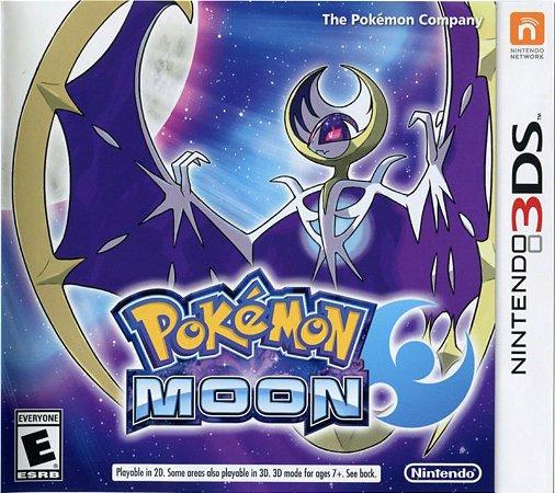 Jogo Pokemon Moon Nintendo 3DS Usado