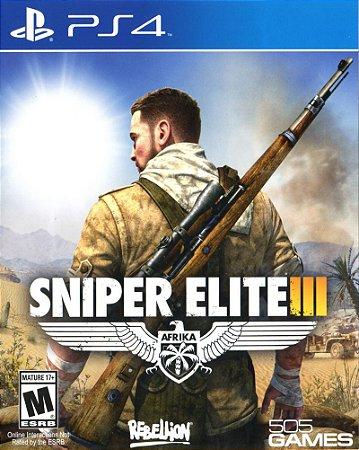 Jogo Sniper Elite 3 PS4 Usado