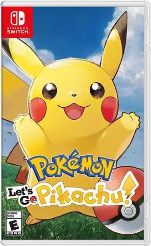 Jogo Switch Usado Pokemon Let's Go Pikachu