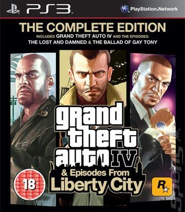 Jogo Grand theft Auto IV The Complete Edition PS3 Usado