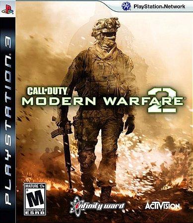 Jogo PS3 Usado Call Of Duty Modern Warfare 2