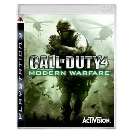 Jogo PS3 Usado Call Of Duty Modern Warfare