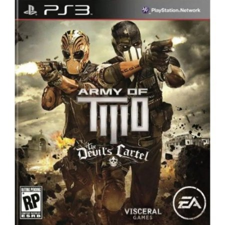 Jogo Army of Two Devil's Cartel PS3 Usado
