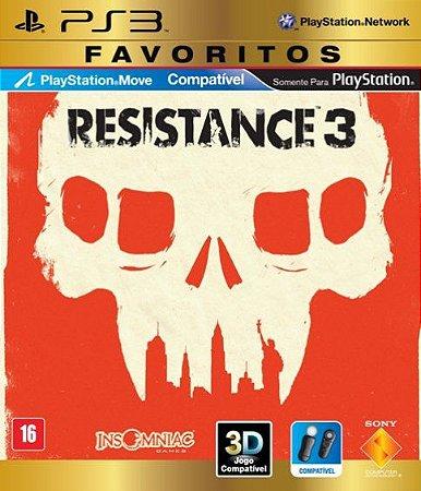 Jogo PS3 Usado Resistance 3