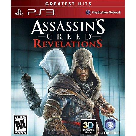 Jogo PS3 Usado Assassin's Creed Revelations