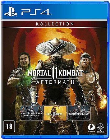Jogo Mortal Kombat 11: Aftermath PS4 Usado