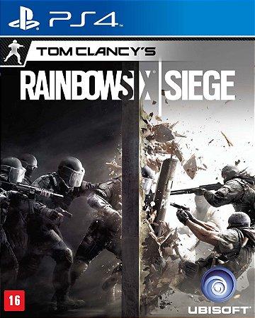 Jogo PS4 Usado Rainbow Six Siege