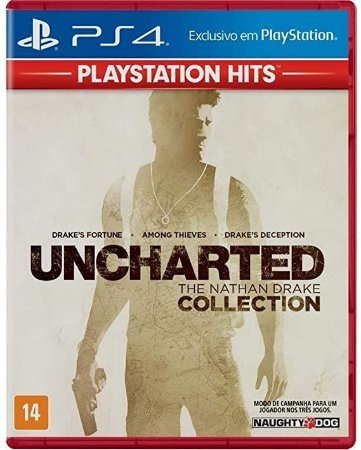 Jogo PS4 Usado Uncharted The Nathan Drake Collection