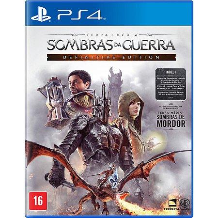 Jogo Terra Média Sombras da Guerra: Definitive Edition PS4 Usado