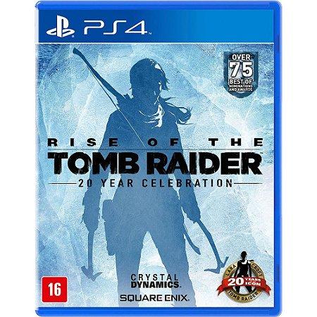 Jogo Rise of The Tomb Raider Usado PS4
