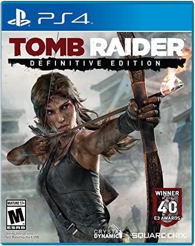 Jogo Tomb Raider: Definitive Edition PS4 Usado