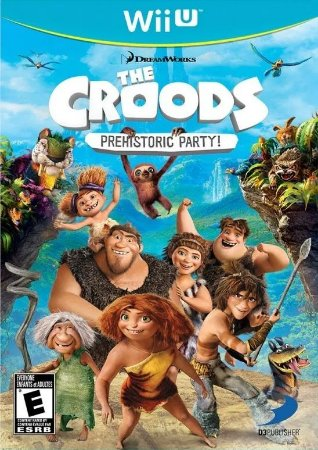 Jogo The Croods: Prehistoric Party Nintendo Wii U Usado