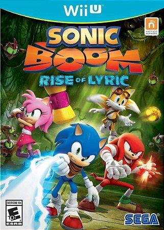 Jogo Sonic Boom: Rise of Lyric Nintendo Wii U Usado