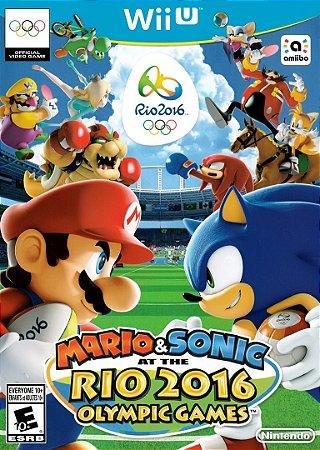 Jogo Nintendo WiiU Usado Mario & Sonic At The Rio 2016 Olympic Games