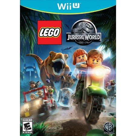Jogo Nintendo WiiU Usado LEGO Jurassic World