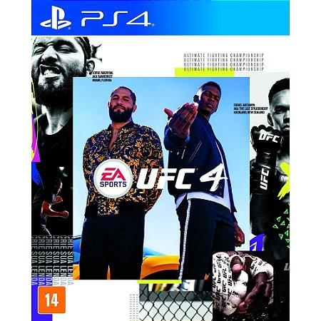 Jogo UFC 4 PS4 Novo