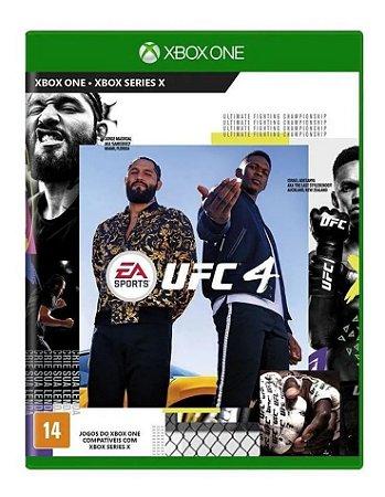 Jogo UFC 4 Xbox One Novo