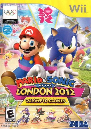 Jogo Mario & Sonic At The London 2012 Olympic Games Nintendo Wii Usado