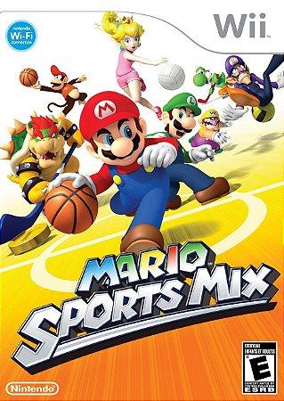 Jogo Mario Sports Mix Nintendo Wii Usado