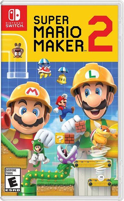 Jogo Super Mario Maker 2 Nintendo Switch Usado