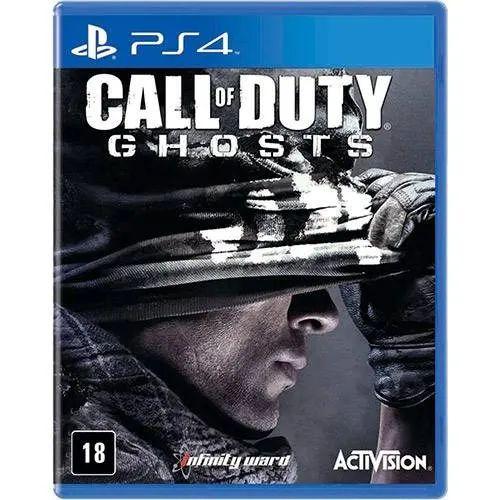 Jogo PS4 Usado Call of Duty Ghosts