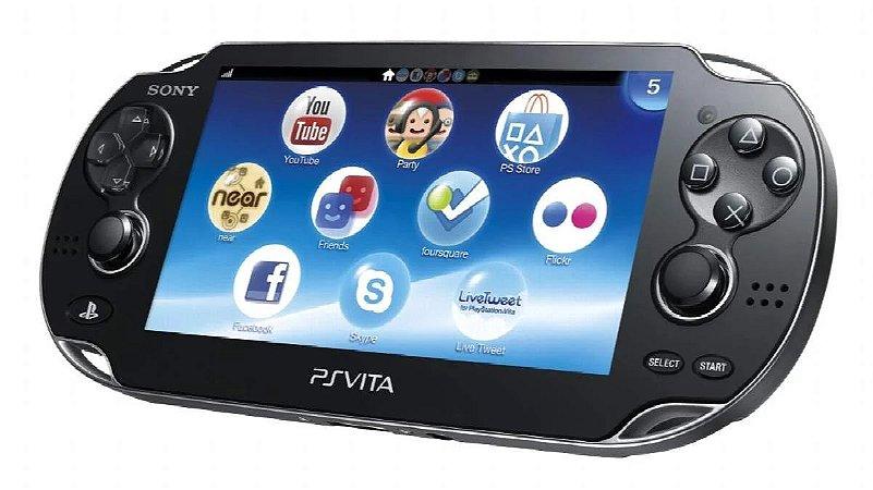 Console PSVITA Fat Usado