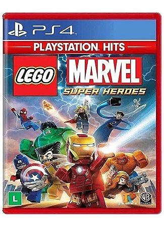 Jogo Lego Marvel Super Heroes PS4 Usado