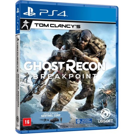 Jogo Ghost Recon Breakpoint PS4 Usado