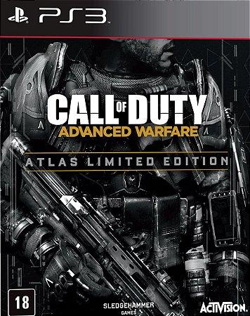 Jogo PS3 Usado Call of Duty: Advanced Warfare Atlas Limited Edition