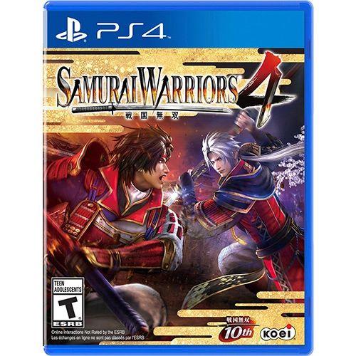 Jogo Samurai Warriors 4 PS4 Usado
